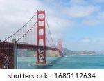 Golden Gate Bridge In Between...