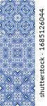 ornamental azulejo portugal... | Shutterstock .eps vector #1685126044
