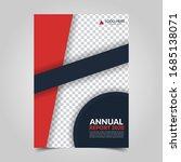 modern business cover for... | Shutterstock .eps vector #1685138071