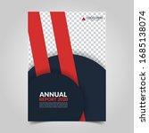 modern business cover for... | Shutterstock .eps vector #1685138074