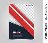modern business cover for... | Shutterstock .eps vector #1685138077