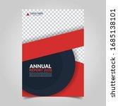 modern business cover for... | Shutterstock .eps vector #1685138101