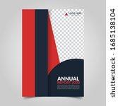 modern business cover for... | Shutterstock .eps vector #1685138104