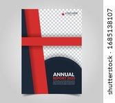 modern business cover for... | Shutterstock .eps vector #1685138107