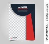 modern business cover for... | Shutterstock .eps vector #1685138131