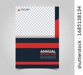 modern business cover for... | Shutterstock .eps vector #1685138134