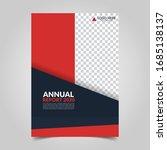 modern business cover for... | Shutterstock .eps vector #1685138137