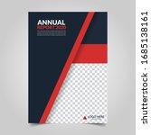 modern business cover for... | Shutterstock .eps vector #1685138161
