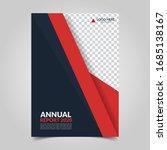 modern business cover for... | Shutterstock .eps vector #1685138167