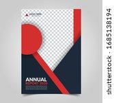 modern business cover for... | Shutterstock .eps vector #1685138194