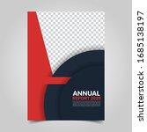 modern business cover for... | Shutterstock .eps vector #1685138197