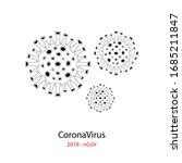 coronavirus 2019 ncov. corona...   Shutterstock .eps vector #1685211847