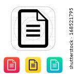 text file icon. vector...