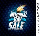 advertising memorial day sale... | Shutterstock . vector #1685284537