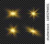 white glowing light explodes on ... | Shutterstock .eps vector #1685296831