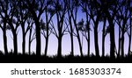 natural forest mountains... | Shutterstock .eps vector #1685303374
