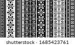 seamless pattern based on... | Shutterstock .eps vector #1685423761