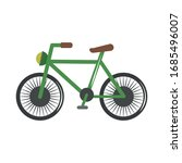 bicycle vehicle transport... | Shutterstock .eps vector #1685496007