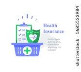 health insurance  medical... | Shutterstock .eps vector #1685533984
