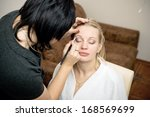 bridal makeup | Shutterstock . vector #168569699