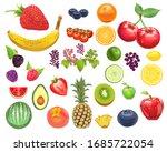 photo realistic fruit kit  ... | Shutterstock . vector #1685722054