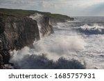 Windy  Sunny Day  Big Waves...