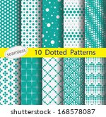 dotted pattern's unit... | Shutterstock .eps vector #168578087