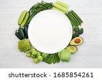 Vegan Health Food Wreath With...