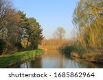 Dutch Landscape With Green...