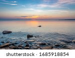 Sunrise Over Lake Superior In...