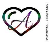 love logo _ love design _ heart  | Shutterstock . vector #1685955307
