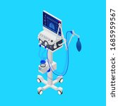 isometric ventilator medical...   Shutterstock .eps vector #1685959567