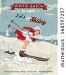Young Girl Skiing At Ski Resor...