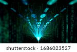 fabric cable data...   Shutterstock . vector #1686023527