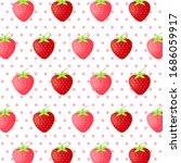 fruit pattern.cute fresh... | Shutterstock .eps vector #1686059917