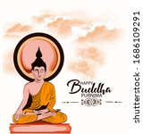 Creative Poster For Buddha...