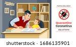 coronavirus covid 19 ... | Shutterstock .eps vector #1686135901