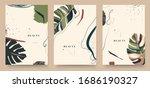 abstract trendy universal... | Shutterstock .eps vector #1686190327