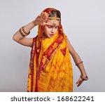 portrait of child in... | Shutterstock . vector #168622241
