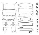 hand drawn doodle vector... | Shutterstock .eps vector #1686314551