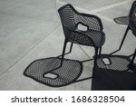 Beautiful Shadow Of Chairs In...