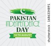 illustration of 14 august happy ...   Shutterstock .eps vector #1686334891