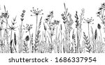 seamless horizontally... | Shutterstock .eps vector #1686337954