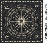 sun  magical vector...   Shutterstock .eps vector #1686369241