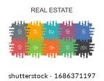 real estate cartoon template...