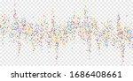 festive confetti. celebration...   Shutterstock .eps vector #1686408661
