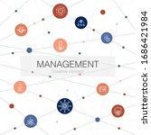 management trendy web template...