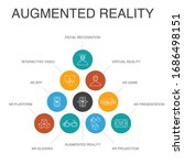 augmented reality infographic...