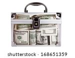 Favorite Bank. Transparent Box...