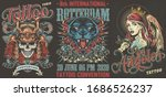 tattoo festivals vintage... | Shutterstock .eps vector #1686526237